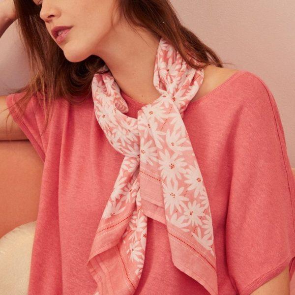 foulard imprimé