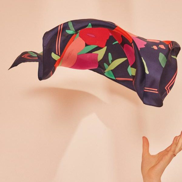 foulard floral