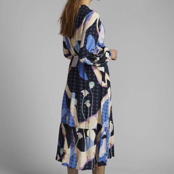 robe longueur midi imprimée