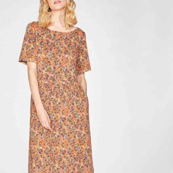 robe mi longue bamboo organic